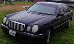 1998 e320 black mercedes very nice car only serious buyers please call anytime 9165447235