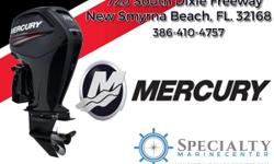 Mercury Motors at Specialty Marine Center - Come on in and check out our great in-stock selections on these reliable performance machines. Come down to 720 South Dixie Freeway in New Smyrna Beach. That's about three blocks south of SR44 off of US1 right