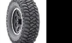 Tire Size: 37x12.50R17 Black Sidewall Load Range: D Max Load: 3525 Tread Depth:22/32 Overall Diameter: 36.8 Speed Rating: Q Rim Range: 8.5-11.0 Tread Type: Mud Terrain