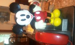 Beautiful Micky Mouse Phone that works. asking $50. Call -- Or call --