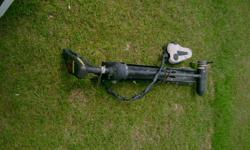 long shaft 24 volt 74 pounds thrust, black in color foot cotrolled. plenty of power to get you where you want to go. will take trade for crossbow. ready to use.call 803-347-8349