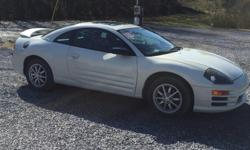 2002 Mitsubishi Eclipse 2.4, 5speed,a/c,power windows,new tires,new kenwood radio. Runs and drives good asking 4000.00 OBO NO TRADES call or txt 423-823-0791 thanks