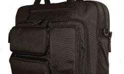 The Mobile Edge Briefcase is the perfect carry-all solution for road-warriors, business commuters and students! The padded computer compartment is designed to hold all your computing devices in one area! Your 16? laptop, a sleek ultrabook and/or a tablet