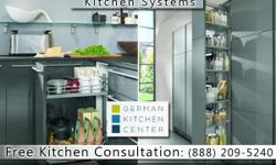 """At the German Kitchen Center, our designs and aesthetics are at the cutting edge of German interior design. And while the word """"kitchen"""" conjures images of refrigerators, ovens and stoves, we know that the real hidden treasure of the kitchen is its"""