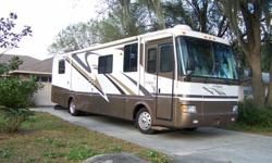 Monaco Diplomat RV Diesel Pusher, excellent condition, 2 roof airs, 2 slide outs, 2TV's, 2 dr. refrigerator, back up camera, lots of storage, many extras. 2000 Model. $50,000. 407 767 9567.