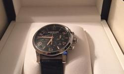 New In Box - Unwanted GiftMontblanc Timewalker Watch Steel Collection 43mm Chrono Automatic Silver Dial, Black Alligator Strap Retails for $4000.00 SERIOUS BUYERS ONLY PLEASE, NO LOWBALLS