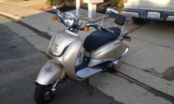 Motor Scooter ( Lance Vintage ) 150.00cc Good Condition 1800 miles $400.00 Call for Details Must Sell