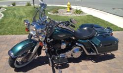 No trades, Reasonable offers. Blue book $10,500 Fuel Injection Cruise Control Rear Air Suspension Sued Green Pearl/Black Color - very Rare Limited production color Dual Front disc brakes Factory Security Module Top End 95 CI motor upgrade- dyno