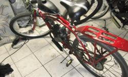 26in. schwinn motorized bike just serviced ready to ride 325.obo --