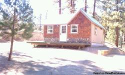 Vacation cabin, Big Bear cabin, Big Bear getaway, hunting cabin, fishing cabin, homes for sale, terms available, owner financing 1 Rim of the World Drive, Fawnskin, CA Price $169,500 Seller Financing is available Contact: