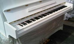 I Have A Rare Finish! Snow Polished KAWAI Upright Piano, Model, CE-11, with Matching Bench Like New and in Excellent Condition. I Am the Original Owner, Purchased New in 1990. Used rarely because no one in the house plays. ABOUT THIS KAWAI PIANO: This is