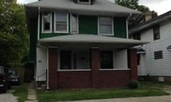 This beautifully updated home features hardwood flooring thoughout and updated kitchen and bathroom. 3b/1b home has LAUNDRY ROOM ON SECOND FLOOR. Unfinished basement, Detached garage.  Call Linda at 937-657-2995
