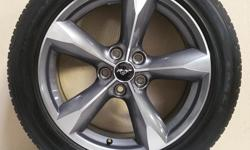 """FORD MUSTANG """"BULLET STYLE"""" 18"""" WHEELS WRAPPED IN 235/50/R18 GOODYEAR EAGLES!!! ((($650))) CALL 501-955-2232 AND ASK FOR JASON TODAY!"""