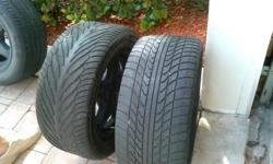 Set of 4 tires in good condition Size/Dimension: 245-50R 16 Please call Ken at 561-294-0993 for more information.