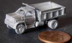 N scale model railroading cars and trucks by C in C miniatures. These white metal miniatures are easy to assemble and can be painted the way you want. N Scale Miniatures have very little flash and are highly detailed. Click on the pictures for a close up