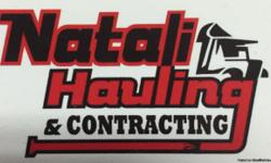 Natali Hauling and Contracting Contstuction site cleanup, property (garages, sheds basement, yards)estate clean up, light demolition and hauling.Seasonal yard cleanup. Fully insured and licensed. 724-518-6572