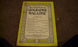 DEC 1950 NATIONAL GEOGRAPHIC WITH BEAUTIFUL COKE-A-COLOR AD ON BACK COVER
