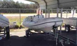 We have for sale a Nautica inflatable jet boat without trailer. This is a great little boat for fishing or going out for a cruise! $5,800 and this beauty is yours. Call or text me at 305-927-6680 if you have any questions. This boat is a MUST see.