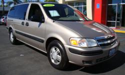 This durable 2002 minivan easily seats 6, making it ideal for the family or if you have company over! This venture comforts its passengers with conveniences such as stereo/cd, air and heat, power windows and locks, cruise control, racks on the roof for