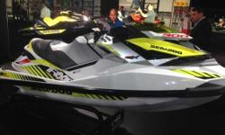 New 2016 Sea-Doo RXP-X 300 Personal Watercraft in White & Dayglow Yellow, stock #1676. MSRP: $15,199.00 CALL TODAY FOR THE BEST PRICE GUARANTEED ONLY AT JIM POTTS MOTOR GROUP IN WOODSTOCK! The ultimate top-of-the-line racing watercraft combines power,