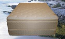 THE MATTRESS YOU PAY HIGH PRICES TO SLEEP ON IN 5-STAR RESORTS AND HOTELS! TAKE YOUR CHOICE OF FIRM, PLUSH OR PILLOW TOP. EACH MATTRESS HAS A FOAM ENCASED INNERSPRING ASSEMBLY PROVIDING EXCELLENT EDGE SUPPORT, ENABLING YOU TO SLEEP ANYWHERE ON THE ENTIRE