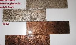 PRICE TO FIT YOUR BUDGET, WITHOUT SKIMPING ON QUALITY AND DESIGN!!!! WE GUARANTEE THE BEST PRICES AND ONE OF A KIND GLASS TILE !!!! Various color to choose, open showroom where you can see your dream come true. MIDWEST KITCHEN & BATH 5911 N NORTHWEST HWY