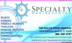 Mercury Marine Motors Yamaha Marine Motors Suzuki Marine Motors Lehr Marine Motors Outboard Motors service, sales and repairs. call us at 386-410-4757 or come visit us over at 720 South Dixie Freeway in New Smyrna Beach, FL. 32168 Marine Repair Services
