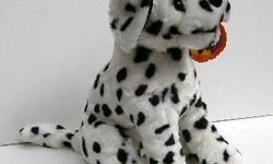 """This stuffed Dalmatian has soft fur and will make a great gift. He isnew, awell made, about 14"""",stuffed animal that would make anyone happy."""