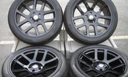 SET OF 4 BRAND NEW DODGE VIPER SRT 10 Pick Up TRUCK BLACK 22 INCH WHEELS RIMS AND TIRES PACKAGE. THE WHEELS AND TIRES ARE BRAND NEW. THE WHEELS HAVE NEVER BEEN MOUNTED ON A VEHICLE THE TIRES GET MOUNTED AT TIME OF PURCHASE FITMENT: Dodge Dakota 05-12 /