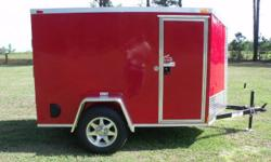 Stock #: custom order Serial #:order Description :::::: rear ramp door /no spring assist, l.e.d. tail lights, interior 12 volt dome light w/ switch, non powered roof vent braced for a/c, 12? atp stone guard front, atp
