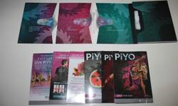New PiYo workout dvds free shipping - $35   You will get everything is in the picture:  You will get the 3 dvds workouts The nutrition guide With all the bb promo Everything sealed in the box  All this including shipping for only