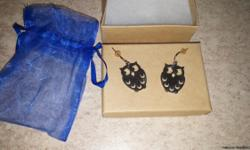 Brand New! From J Spencer Jewelry Silvertone lever back earrings Hoot Owl Gift box & gift bag included Drawstring Pouch Included