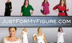 Just For My Figure.com has new plus sized wedding dresses, casual dresses and dresses for special occasions. We also have plus size skirts and tops. Spend $200 or more and we will take 20% off your total purchase. Use coupon code: SPRINGSALE at checkout.