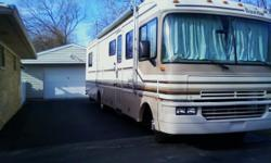 Very Nice and Maintained Fully Loaded motor home, Heated Basement, 3 AC,s, 2 furnaces, Jack's , Awning, Queen Bed, Must see to appreciate. call Glen at 317-856-9068 or cel l 317-471-7073 or-glenjackie1@aol.com---Ready to go.