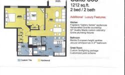 2 bedroom, 2 bath condo,granite countertop, marble vanities, Jacuzzi whirlpool,new building, indoor parking.847-813-9412