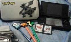 i'm selling a DSI for 100 dollars mint conditon never used. it comes with a pokemon case 3 pokemon styluses and 2 games color:Black works great.