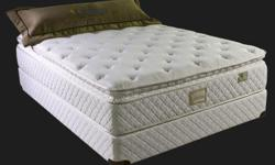 """These are brand new, brand name mattress set @ wholesale prices with full manufactures warranty. Don't fall for other deals that offer """"defective AS-IS"""" beds. Give us call for the best deals on some great beds. .. Come see our beds in our brand new"""