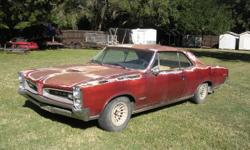 """Everything works except the tach on this very straight, solid, """"242"""" numbers matching, PHS documented Texas daily driver that has 103,594 original miles, and is all power. It has a 389 c.u. inch engine with tri-power. It does not have power steering,"""