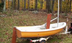 Great for beginner, intermediate sailors! Sailboat and sails in excellent condition and comes with trailor. Look up the O'Day internet site to learn more about this great little boat.