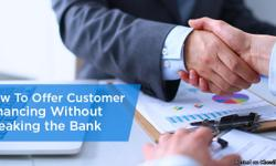 Now with Global Check, you are now able to provide your customers financing with absolutely NO CREDIT CHECK! Now your customers are able to afford products and services from you by spreading out their payments. The best part is that it is RISK-FREE & You
