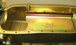 --------NEW MILODONSHOEBOXOIL PAN---FITS 350-455 OLDS---11-3 M-F