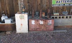 2 DIFFERENT OIL TANKS, ONE IS ONLY ONE AND THE OTHER IS A COMBO OF 3.  100.00 OBO CALL JOHN 559-232-0508