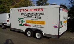 ? ? OK BUMPER REPAIR ? ? DENT REMOVAL DENT REPAIR BODY WORK PAINTING FAST & AFFORDABLE MOBILE SERVICE!     key words; theft damage, collision, bumper repair, dent, dent removal, paintless dent removal, plastic bumper repair, body