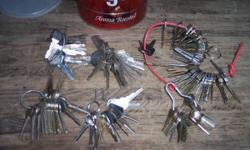 Old Keys $12.00 for all