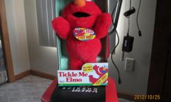 Want something special to put away as a Collectors Item? Here it is the Original Tickle Me Elmo....It is Brand New, Call carl at -- (this is a collectors item) Mailing at Cost