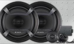 BRAND NEW Orion Cobalt Component Speakers $79.99 Orion Cobalt Series 600 Watt 4 Channel Amplifier w/Crossover $199.99 Orion Cobalt Series 12-Inch 500 Watt Single Voice Coil 4 Ohm Subwoofer $79.99