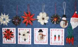 see all theses unique gift items at www.cajunornaments.com we ship within 24 hours FAST!