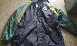 Packer jacket size 2x asking $60 obo. cash only please.