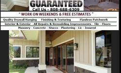 Painters Honolulu Hawaii House Painter Oahu HI  looking to hire a painter in Honolulu with proven commercial and residential interior and exterior painting experience, what talking about expertise Rivera's painting and carpentry services is fully