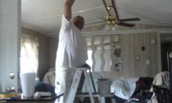 Retired Painter looking for extra cash will paint inside or out for cash, 42 years painting no money up front paid when job is done 980 332 0412 leave message and I will return yor call